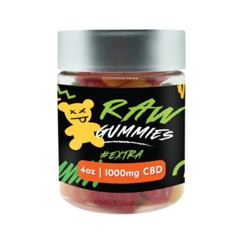 Raw CBD Gummies 1000 MG Gummies - Bears