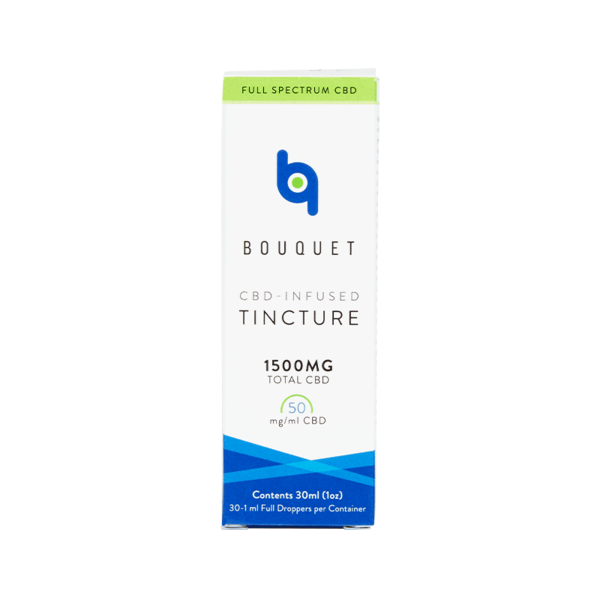 Bouquet | CBD-Infused tincture 30ml Bottle - 1500mg