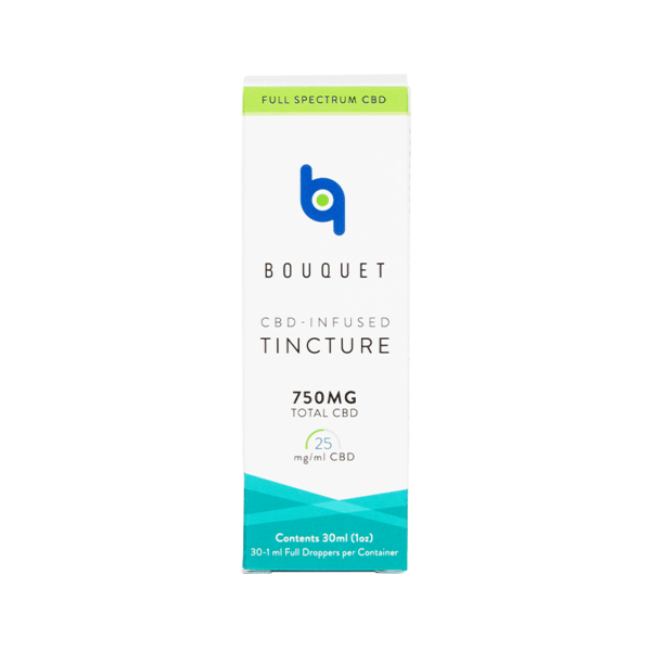 Bouquet | CBD-Infused Tincture 30ml Bottle - 750mg