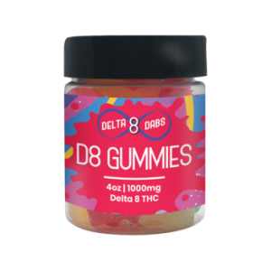 1000 MG D8 Gummies - Bears