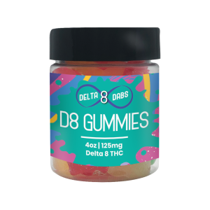 125 MG D8 Gummies – Bears
