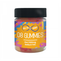 500 MG D8 Gummies - Bears
