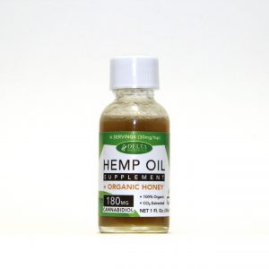 Hemp Oil Honey – 180mg Full Spectrum CBD | 1oz Bottle
