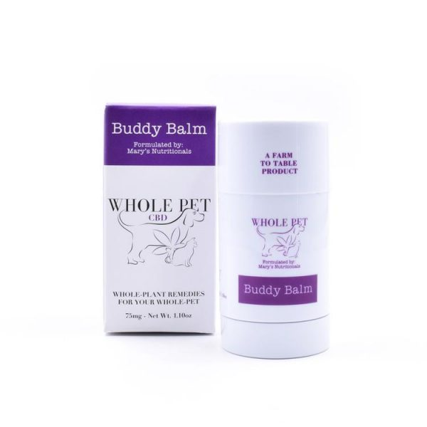 Mary's Nutritionals - Whole Pet CBD Buddy Balm (75mg) 2.6oz.