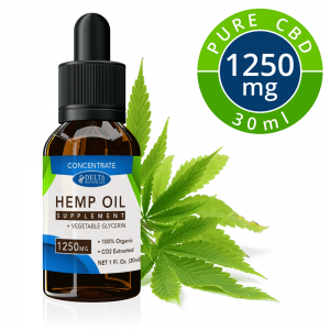 1250mg CBD Concentrate E-Liquid – 30ml Vape Oil