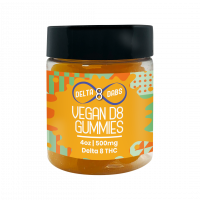 500 MG D8 Vegan Vitamin Gummies