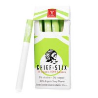 CHIEF STIX DELTA8 INFUSED™ HEMP SMOKES - 10CT PACK