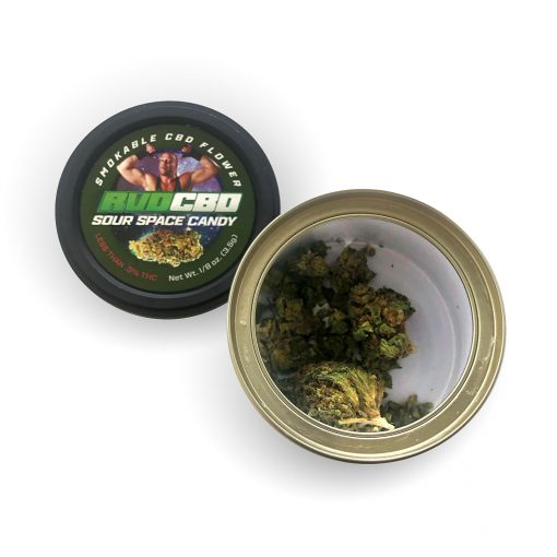 RVD CBD Sour Space Candy Flower