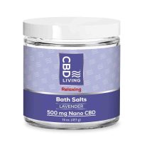 CBD Bath Salts Lavender