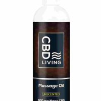 CBD Living Massage Oil