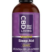 CBD Living Sleep Aid Syrup Grape