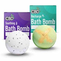 CBDFX -CBD Bath Bombs Soothing _ Recharge