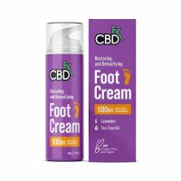 CBDFX CBD Foot Cream-Lavender