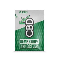 CBDFX -CBD Sublingual Strips 15mg
