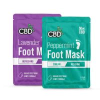 CBDFx CBD Foot Masks Lavender & Peppermint