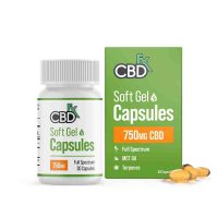 CBDFX Softgel Capsules 750mg